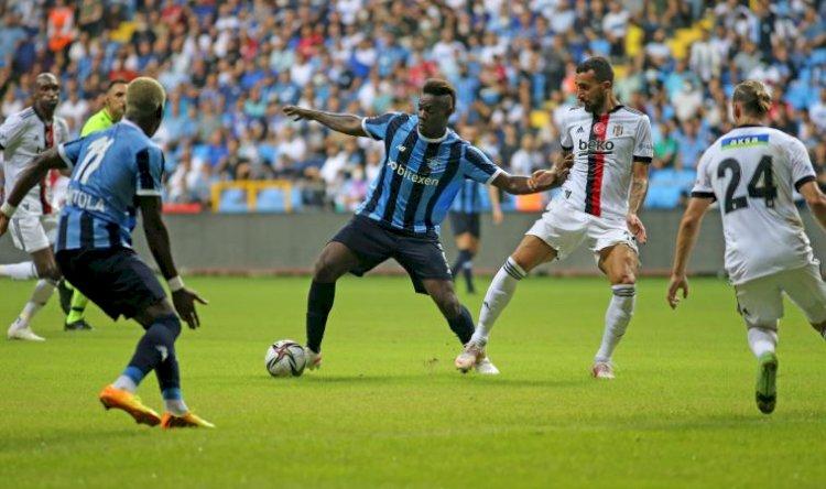 Adana Demirspor ve Beşiktaş 1-1 berabere kaldı