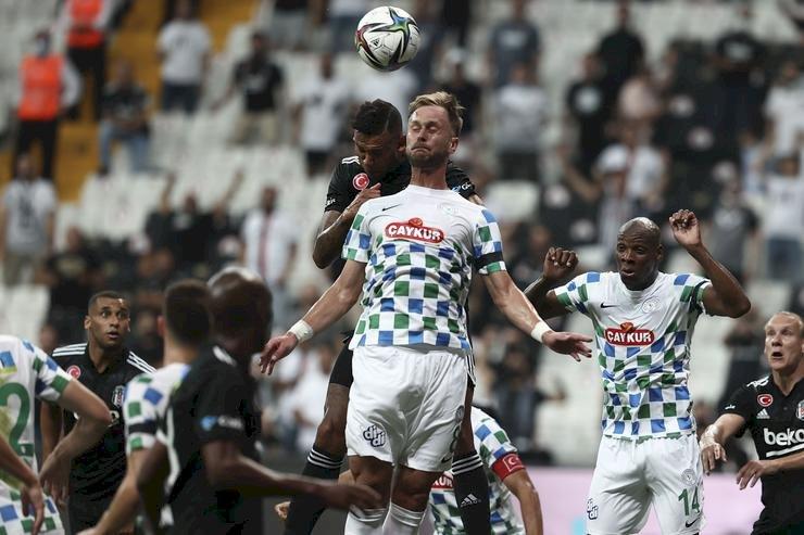 Beşiktaş - Çaykur Rizespor maç sonucu: 3-0